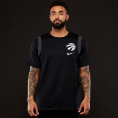 Nike NBA Toronto Raptors Baller Tee - Black/ Dark Grey