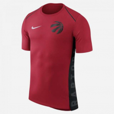 Nike NBA Toronto Raptors Hyper Elite Short-Sleeve T-Shirt - University Red/ Black/ White