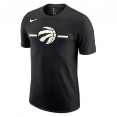 Nike NBA Toronto Raptors Logo Dri-Fit T-Shirt - Black/ Sail