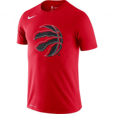Nike NBA Toronto Raptors Logo Dri-Fit T-Shirt - University Red