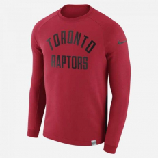 Nike NBA Toronto Raptors Modern Long-Sleeve Crew - University Red/ University Red
