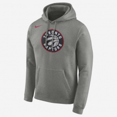 Nike NBA Toronto Raptors PO Essential Logo Hoodie - Dark Grey Heather