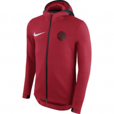 Nike NBA Toronto Raptors Therma Flex Showtime Hoodie - University Red/ Black/ White