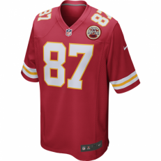 Nike NFL Kansas City Chiefs Game Travis Kelce Jersey - University Red