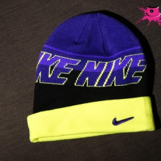 Nike purple-black-yellow