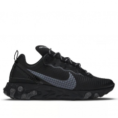 Nike React Element 55 'Quilted Grid - Black'