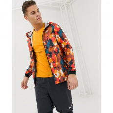 Nike Running Just Do It Reflective Jacket In Orange