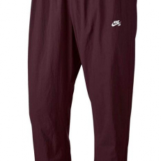 Nike SB Flex Track Pants - Burgundy/ White