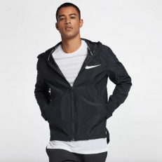 Nike Showtime Lightweight Basketball Jacket - Black/ Black