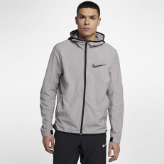 Nike Showtime Lightweight Basketball Jacket - Medium Grey/ Black