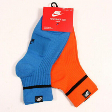Nike Sneaker Sox Ankle 2 Pair - Multi Colour
