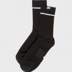 Nike Sneaker Sox Essential Crew 2 Pair - Black/ White/ White