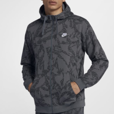 Nike 'Soft French' Full Zip Hoodie
