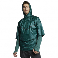 Nike Sphere Running Hooded Jacket - Midnight Spruce/ Faded Spruce