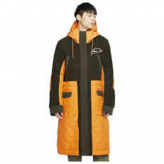 Nike Sport Pack Synthetic-Fill Parka - Bright Kumquat/ Sequoia