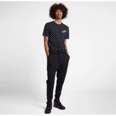 Nike Sportswear Dot T-Shirt - Black/ White
