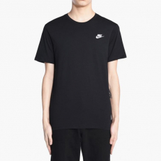 Nike Sportswear Embroidered Futura Club Tee - Black