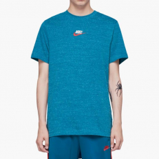 Nike Sportswear Heritage Embroidered T-Shirt - Geode Teal/ Sail
