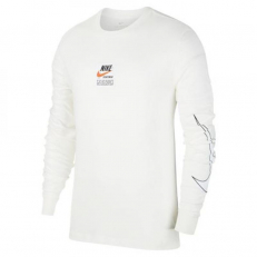Nike Sportswear Long-Sleeve Printed Top