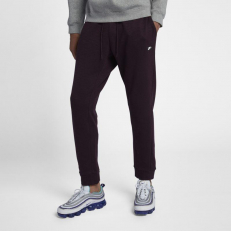 Nike Sportswear M Optic Jogger - Burgundy Ash