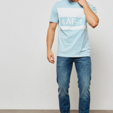 Nike Sportswear Modern AF1 Tee - Light Blue/ White