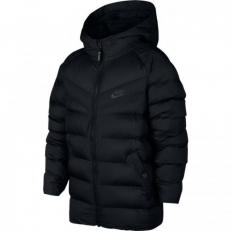 Nike Sportswear Older Kid's Synthetic-Fill Jacket - Black/ Anthracite