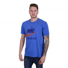 Nike Sportswear Original Hybrid Tee - Game Royal/ Birch Heather