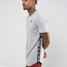 Nike Sportswear Printed T-Shirt - Grey/ Black