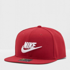 Nike Sportswear Pro Futura Cap - Red Crush/ Pine Green/ Black/ White