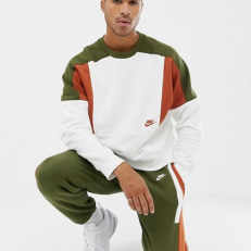 Nike Sportswear Re-Issue Fleece Crew - Sail/Dark Russet