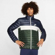 Nike Sportswear Synthetic-Fill Puffer Jacket - Obsidian/ Galactic Jade/ Sail/ Sail