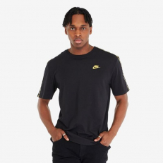 Nike Sportswear T-Shirt - Black/ Metallic Gold