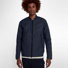 Nike Sportswear Tech Fleece Aeroloft Bomber Jacket - Obsidian/Black