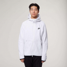 Nike Sportswear Tech Fleece Full-Zip Hoodie - Birch Heather