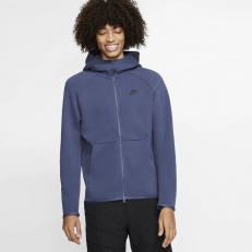 Nike Sportswear Tech-Fleece Full-Zip Hoodie - Sanded Purple/ Black