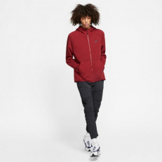Nike Sportswear Tech-Fleece Full-Zip Hoodie - Team Red/ Black