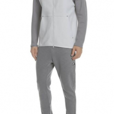 Nike Sportswear Tech-Fleece Full-Zip Hoodie - Vast Grey/ Gunsmoke/ Black