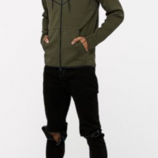 Nike Sportswear Tech Fleece Windrunner Full-Zip Hoodie - Sequoia/Heather
