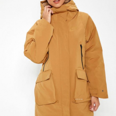 Nike Sportswear Tech Pack Down Fill Parka - Muted Bronze/ Desert/ Muted Bronze