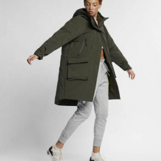Nike Sportswear Tech Pack Down Fill Parka - Sequoia/ Olive Canvas/ Sequoia