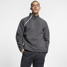 Nike Sportswear Tech Pack Long-Sleeve Woven Top - Anthracite/ White/ Black