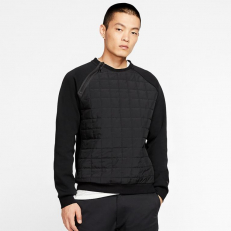 Nike Sportswear Tech Pack Winter Crewneck Sweatshirt - Black