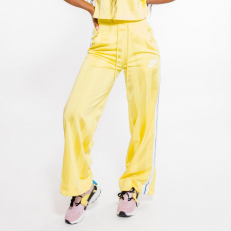 Nike Sportswear W Striped Pants - Yellow Pulse/ Antique Silver/ White