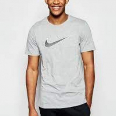 Nike Swoosh T-shirt Grey
