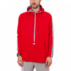 Nike Taped Half-zip Hooded Poly University Red