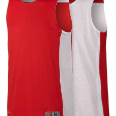 Nike Team Elite Reversible Baketball Tank - University Red/ White