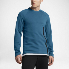 Nike Tech Fleece Crew Sweatshirt 'Industrial Blue'