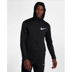 Nike Therma Flex Showtime Full-Zip Basketball Hoodie - Black