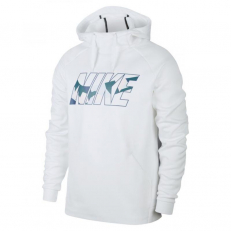 Nike Therma Training Pullover Hoodie - White