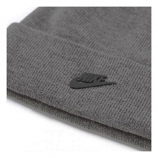 Nike Unisex Beanie Metal Future - Grey Heather/ Black